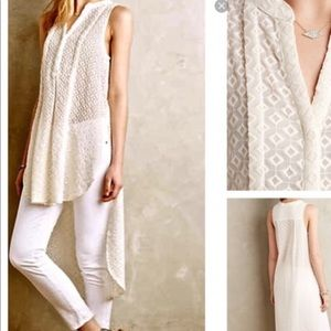 Anthropologie HD PARIS High low tunic med 🌟